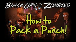 Black Ops 2 Zombies: How to Pack a Punch! - Location