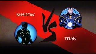 getlinkyoutube.com-Shadow Fight 2- FINAL BOSS BATTLE- Shadow vs Titan (Without Hacks/In App Purchases)