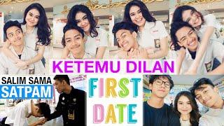 KETEMU DILAN (IQBAAL)   Salim Sama Satpam Di Mall   Recreating Our First Date   DARE OR DARE