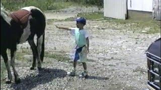 getlinkyoutube.com-Kicked by a horse