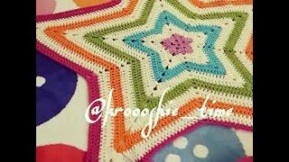 getlinkyoutube.com-طريقة عمل النجمة كروشيه how to crochet a star