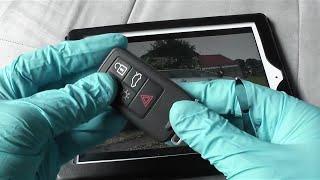 getlinkyoutube.com-Volvo Key Fob CR2430 Battery Replacement
