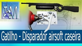 getlinkyoutube.com-Gatilho - Disparador airsoft caseira