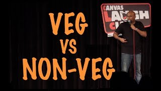 Vegetarians Vs Non-Vegetarians   Stand up Comedy by Nishant Tanwar