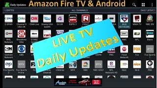getlinkyoutube.com-NEW 2016 LIVE TV Application Daily updates for Amazon Fire TV and Android
