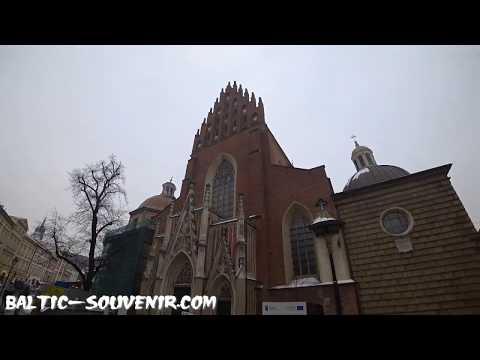 Костёл в Кракове, Польша / Kraków, Polska / Krakow, Poland