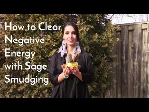 Sage Smudging for Energy Clearing and Psychic Protection