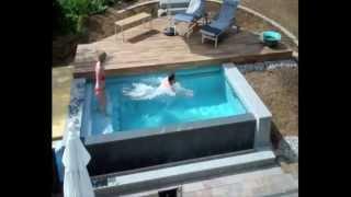 getlinkyoutube.com-Schwimmbadbau - Dokumentation eines Pool im Garten - im Zeitraffer