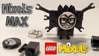 getlinkyoutube.com-LEGO Mixels Series 9 NIXELS MAX + How to Build!