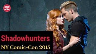 NYCC 2015: Katherine McNamara e Dominic Sherwood de Shadowhunters
