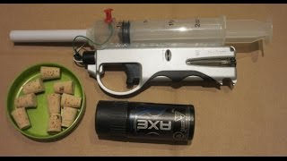 getlinkyoutube.com-Make an Internal Combustion Pistol = POWERFUL
