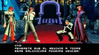 getlinkyoutube.com-King of Fighters Memorial Boss Fight: Gustav Munchausen + Kyo/Iori Ending + KOFM 1.0 Credits