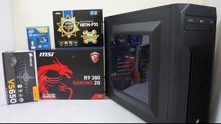 getlinkyoutube.com-INTEL i5 4460 Gaming PC Build, Benchmark & GTA V, BF4, Far Cry 4 Game Play