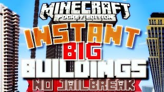 getlinkyoutube.com-✔️Minecraft PE - INSTANT BUILDINGS/SKYSCRAPERS | Make BIG buildings fast! [MCPE]