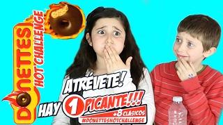 getlinkyoutube.com-Reto Donettes Hot Challenge /Juguetes MaryVer