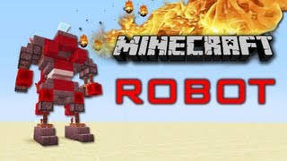 getlinkyoutube.com-Minecraft Robot now with extra Craziness !!! ( Update and Tutorial )