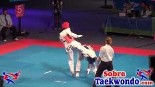 2013 World Taekwondo Championships 68 kg and 67 kg.