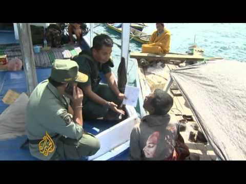 Fishermen bomb Indonesian coral reef