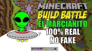 getlinkyoutube.com-Minecraft: Build Battle, El Marcianito 100% Real no Fake.