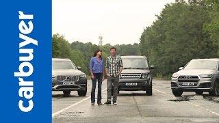 getlinkyoutube.com-Audi Q7 vs Volvo XC90 vs Land Rover Discovery - Carbuyer