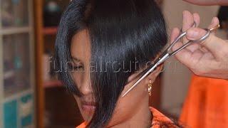 getlinkyoutube.com-Barbershop girl short hair cut