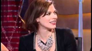 getlinkyoutube.com-Milla Jovovich interview on Russian TV (with subtitles)