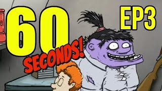 getlinkyoutube.com-60 Seconds - Ep. 3 - MUTANT FAMILY ★ Let's Play 60 Seconds!
