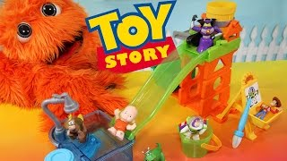 getlinkyoutube.com-Toy Story Color Changers & Slide n Surprise Playground Playset Colour Shifters Disney Pixar