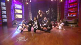 getlinkyoutube.com-[HD] SNSD/Girls Generation - The Boys + Interview @ Live With Kelly