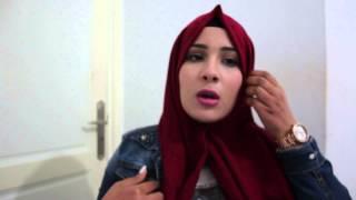 getlinkyoutube.com-meryam kasdallah : hijab Tutorial