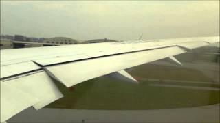 getlinkyoutube.com-【緊急停止】 ANA Boeing 787-8 rejected take off (RTO) , and again take-off   那覇空港 離陸を中断したANA B787