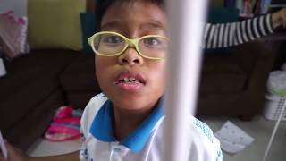 getlinkyoutube.com-สอนทำที่นอนสไลม์ยักษ์ นอนในเต้นท์เด็กจิ๋วกันเลย【 ดีต่อใจ 】By Papapha DIY
