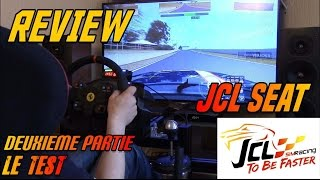 getlinkyoutube.com-#Review# JCL Seat # Partie 2: le test !
