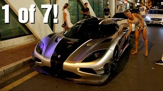 getlinkyoutube.com-Girl driving a 1360HP Koenigsegg One:1 (revs & accelerations)