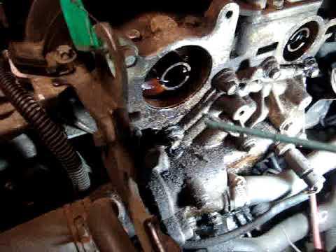 Рено меган сценик 1.6 16клапанов двигатель к4м метки ремня грм