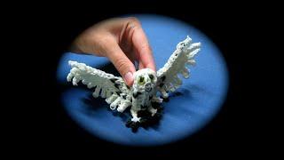 getlinkyoutube.com-Rainbow Loom Snowy Owl Adult (1 Loom)