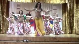 getlinkyoutube.com-Hot Belly dance tabla solo 2016 - Amira Abdi& Co