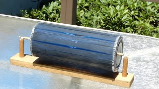 getlinkyoutube.com-Solar motor--Free energy motor-- not electrical /// Homemade Science with Bruce Yeany