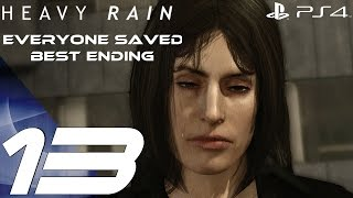 Heavy Rain Remastered (PS4) - Gameplay Walkthrough Part 13 - Best Ending, Everyone Saved