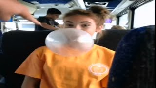 getlinkyoutube.com-Blowing Bubble Gum Bubbles #309