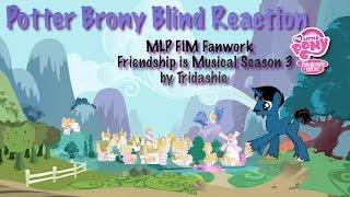 getlinkyoutube.com-PotterBrony Blind Reaction MLP FiM Fanwork Friendship is Musical Season 3