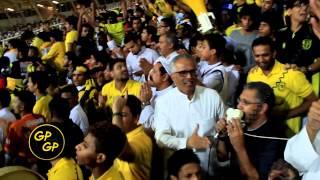 getlinkyoutube.com-احمدالغامدي مايمشى مباراة الاتحاد ولخويا فرحة الهدف الثاني