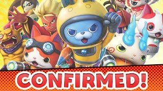 Yo-kai Watch Busters — English Release CONFIRMED! Blasters Localization!