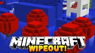 getlinkyoutube.com-Minecraft 1v1 WIPEOUT RACE! (Mazes, Obstacale Course & Parkour!) w/PrestonPlayz & Kenny