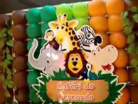 Ornamentação Safari Criat EVA  Ouricuri PE