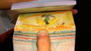 getlinkyoutube.com-FlipBook Gohan Vs Cell