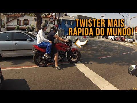 RUDNY DA HORNET - TWISTER MAIS RAPIDA DO MUNDO !!!