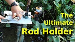 getlinkyoutube.com-Build the Ultimate Fishing Rod Holder DIY Rod holder