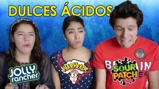 getlinkyoutube.com-RETO: Dulces muy amargos!! | Warheads challenge, sour patch | Los Polinesios