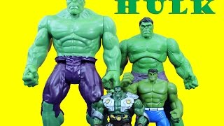 Hulk Unboxing Marvel Hulk & The Agents of SMASH, Gamma Strike Hulk, Titan Hero Series